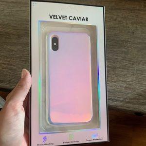 Velvet Caviar Nebula Case for iPhone XS